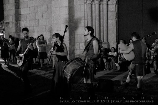 """Medieval Street Performers I"" by Paulo César Silva"