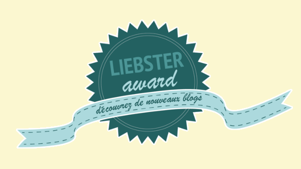 TAG : Liebster Award 1
