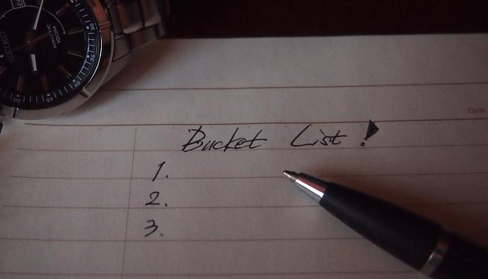 Bucket list 1