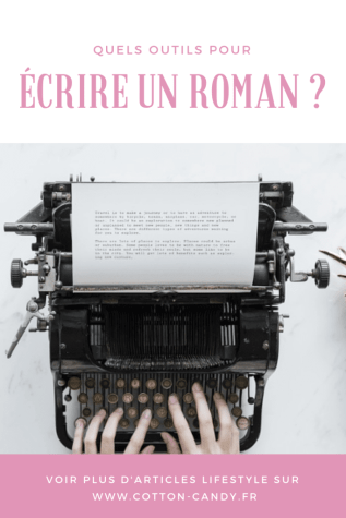 Pinterest écrire un roman quels outils - cotton candy