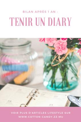 diary bilan après 1 an