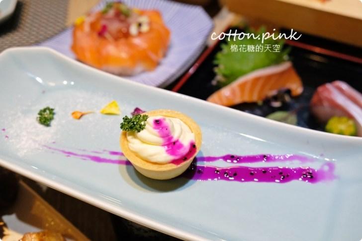 20210318082324 2 - 熱血採訪│免改名當月壽星就送特製鮭魚蛋糕!台中最新日式無菜單料理「鰆沐 割烹、酒」超澎湃
