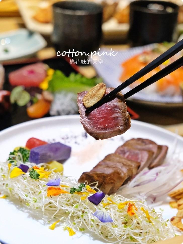 20210318082351 78 - 熱血採訪│免改名當月壽星就送特製鮭魚蛋糕!台中最新日式無菜單料理「鰆沐 割烹、酒」超澎湃