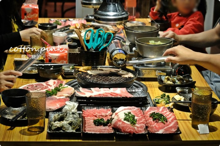 台中逢甲巷子裡燒肉火鍋吃到飽、套餐菜單多選擇!秋今醉日本和牛套餐超划算~