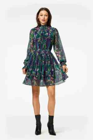 Freebird Katie dress groen (1)