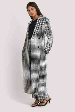 NA-KD Houndstooth Coat 1018-004585 (1)