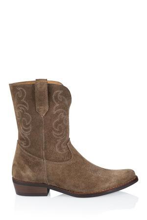 DRWS Toscane western laarzen bruin (1)