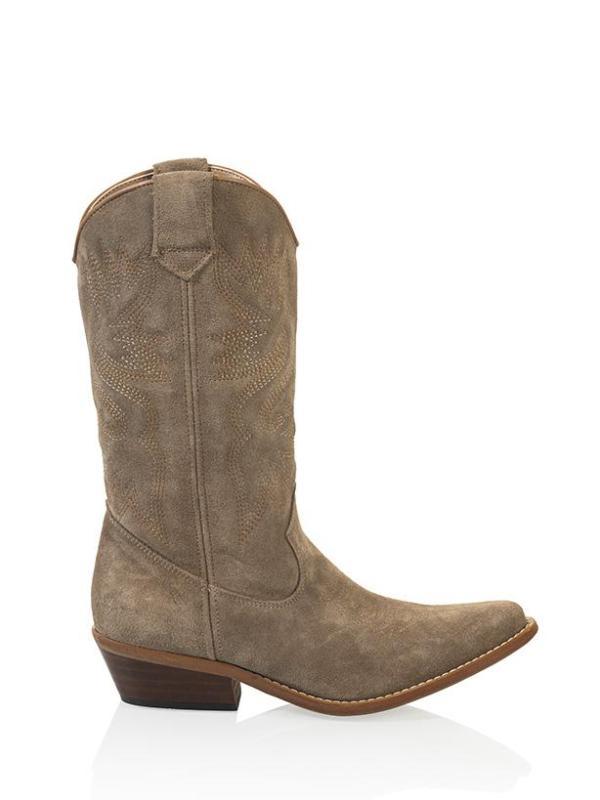DWRS High Texas western laarzen taupe (1)
