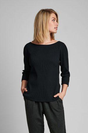 Nümph - Nudari t-shirt caviar 1