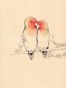 Eilean Shona Arts love birds