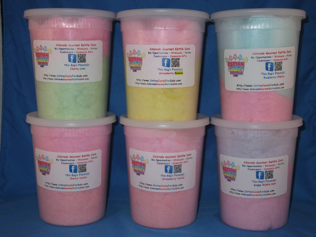 large cotton candy tubs