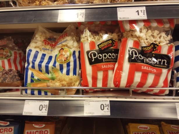 Popcorn in the economy package