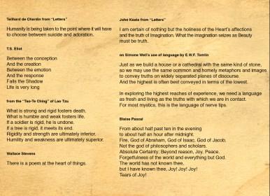 36 de Chardin-Eliot-Lao Tzu