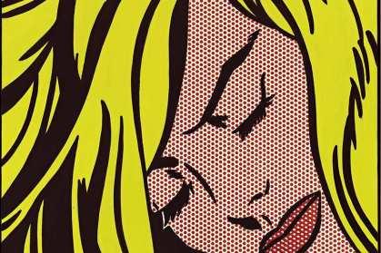 Roy-Lichtenstein-Sleeping-Girl-1964-detail