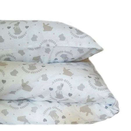Cot Duvet Cover Set – Sweet Bunny design
