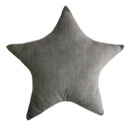 Scatter Cushion Cot – Grey Star