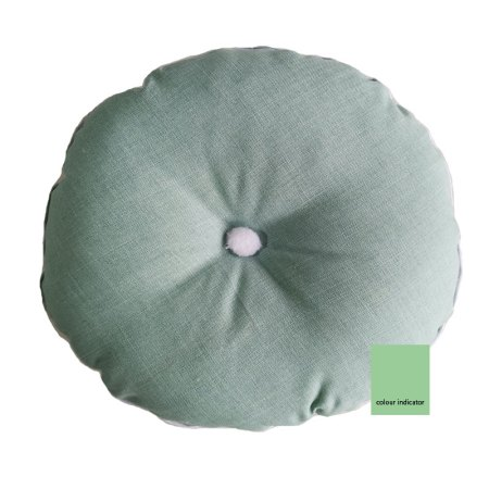 Round Mint Green scatter