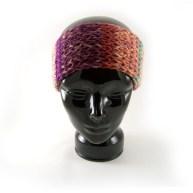 Knit headband-earwarmer.