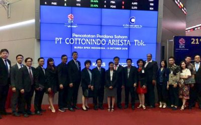 PT Cottonindo Ariesta TBK Goes to IPO in Indonesian Stock Exchange