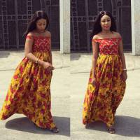 50 Latest African Ankara Maternity Gowns & Dresses Styles