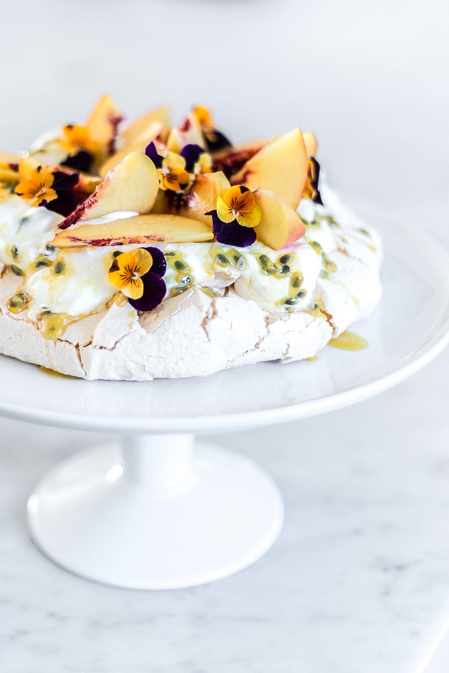 Cottonwood-peach-passionfruit-pavlova