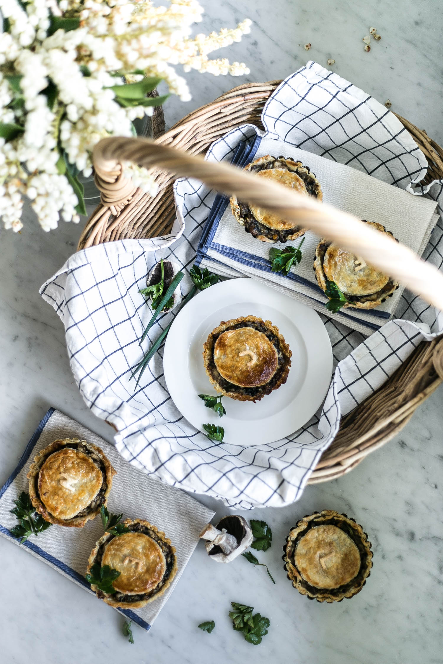 Cottonwood - the ultimate comfort food, my delicious leftover chicken and vegetable pies