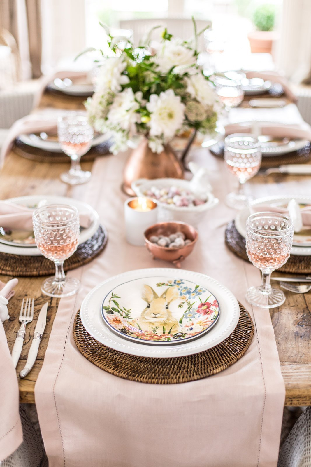 An Easter Table With Pottery Barn - Cottonwood & Co