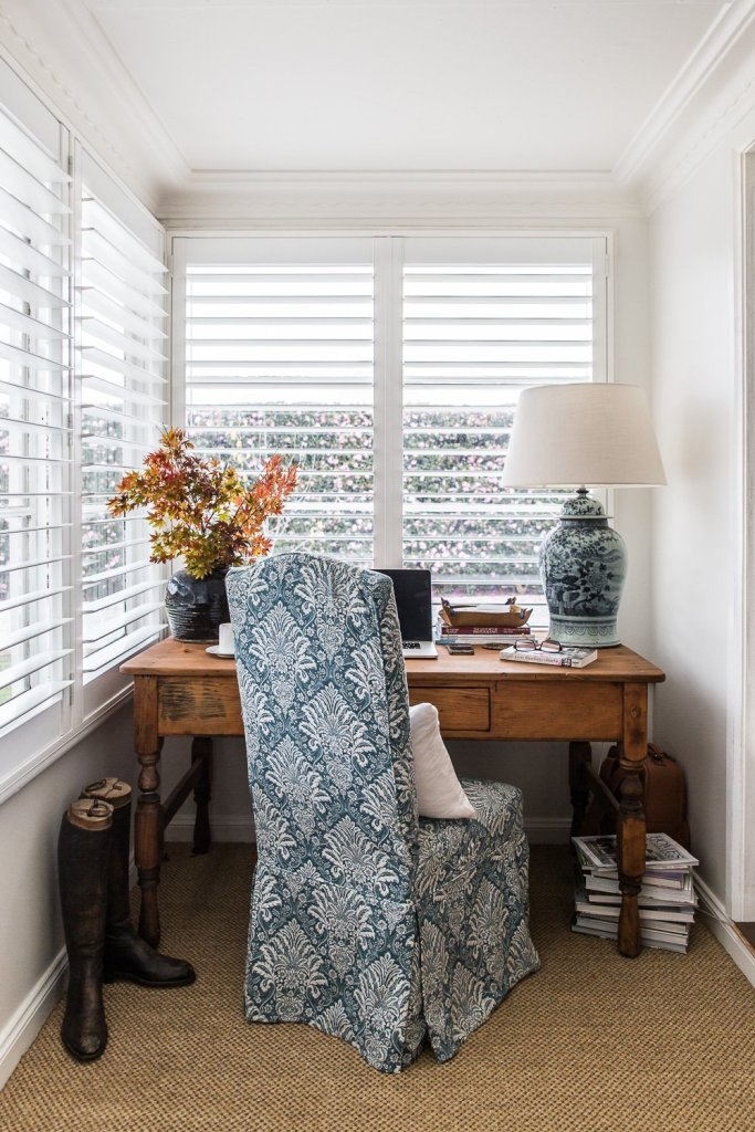 Sisal in the home office - Cottonwood and Co
