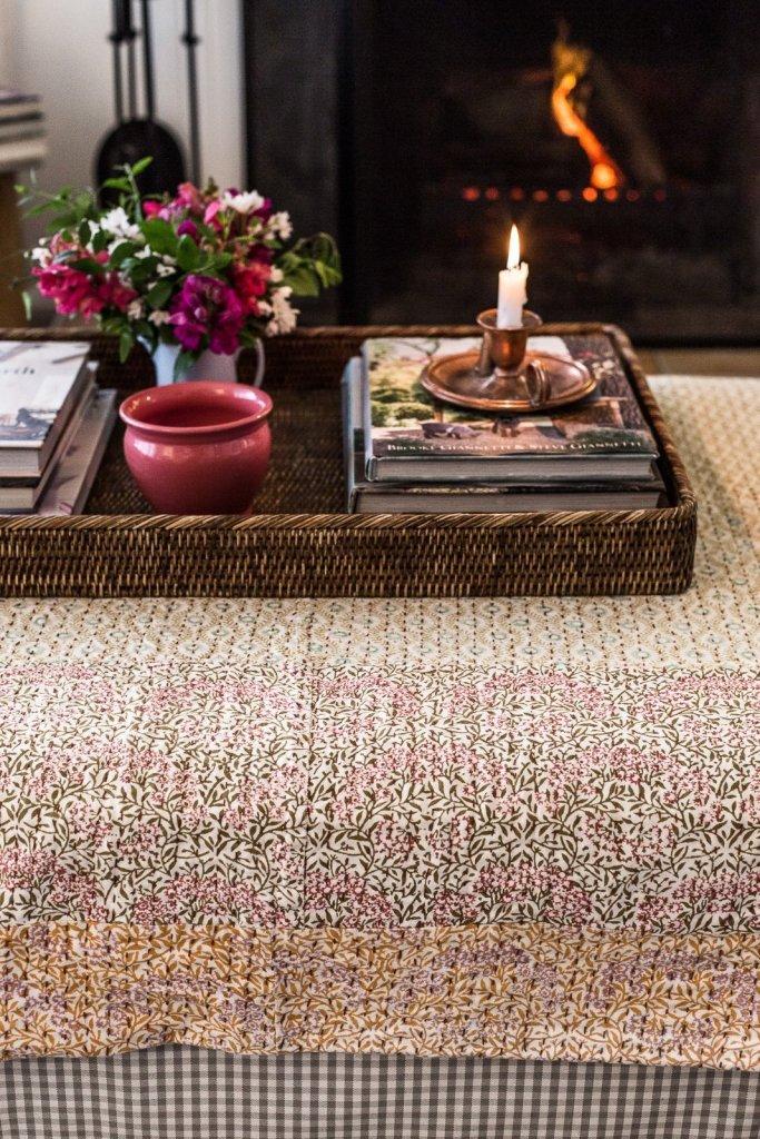 English Cottage Style - Cottonwood & Co - kantha quilt