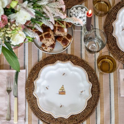 A Stylish Easter Table - Cottonwood & Co