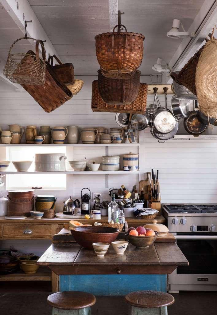 Unfitted kitchen in Maine
