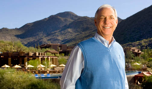 David Mehl at newly created Ritz-Carlton, Dove Mountain in 2009