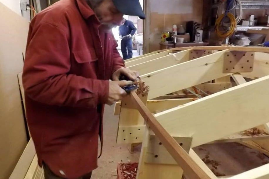 Classic Moth Boats construction