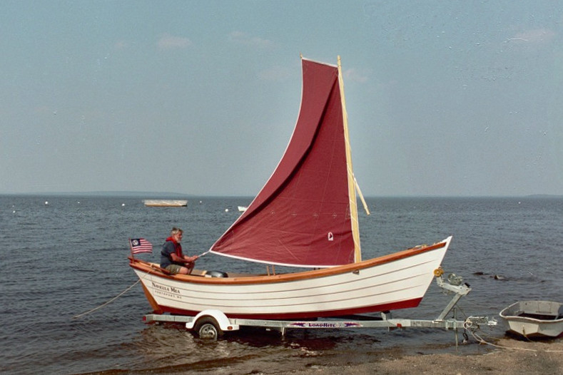 Navicula Mia' a modified Banks Dory