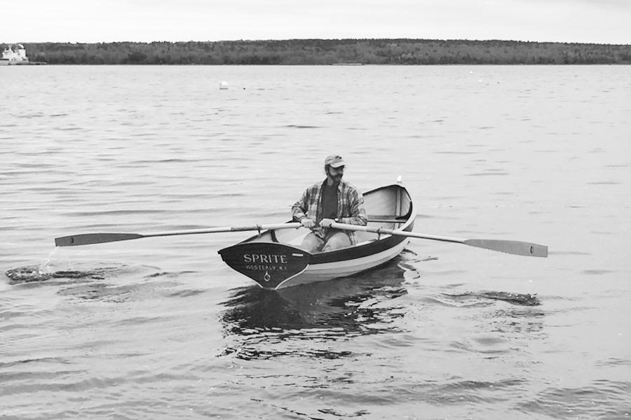 "12'6"" Maine Whitehall tender Rowboat"