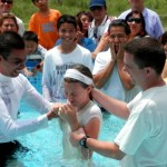 Baptisms (and one in particular)