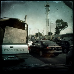 Traffic in Mexico City - 24 August 2013