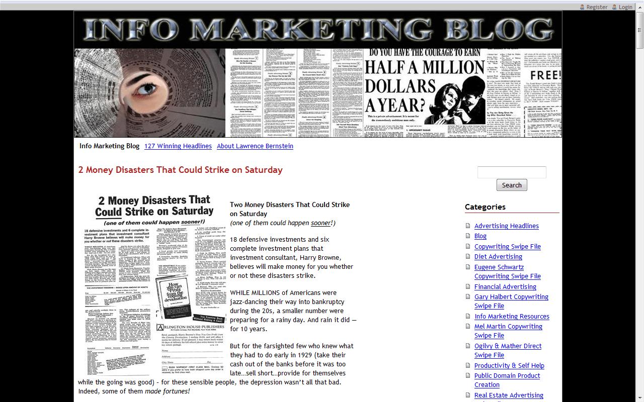 2009-10 Info Marketing Blog