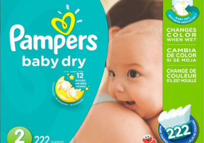 Pampers Baby Dry Taille 2