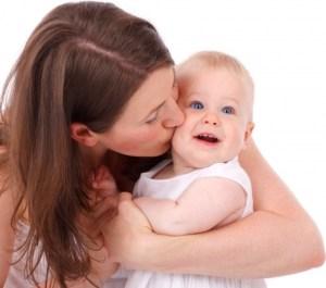 l'amour d'une mère pour son bébé