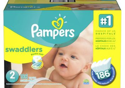 Couches Pampers Swaddlers Taille 2