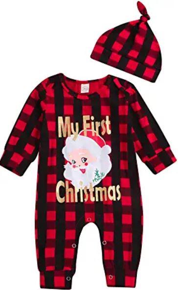 Beau pyjama de noel my first chistmas