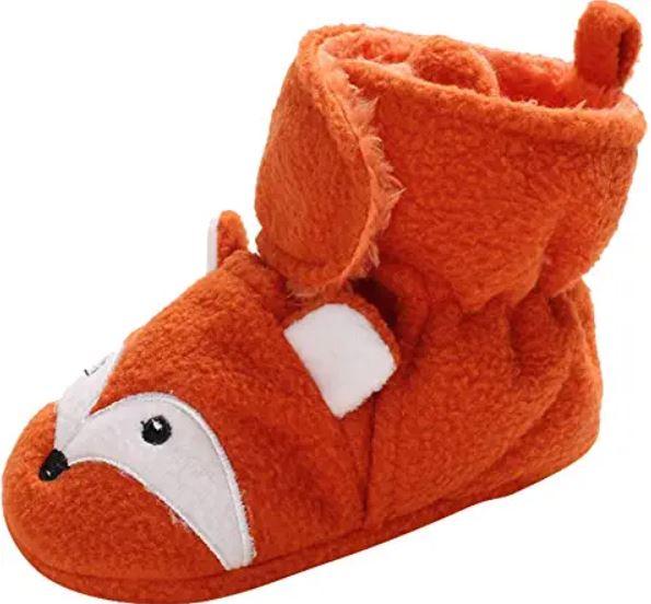 belles petites pantoufles de renard