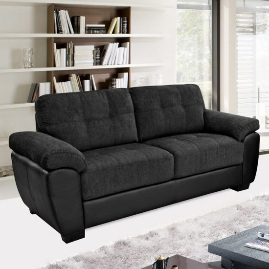 most durable upholstery fabric for sofa reviews of sleeper mattresses add style and beauty to your living area with a black ...