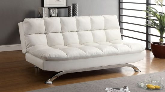 dhp allegra pillow top futon sofa bed claremore 2018 comfortable ideal choice for modern ...