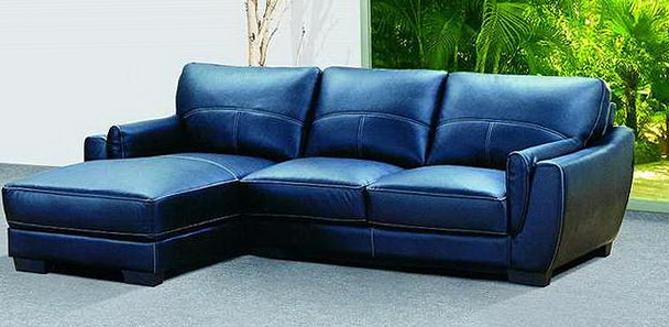 loveseat sleeper sofa leather swing 2018 trendy blue sofas for bright homes - ...