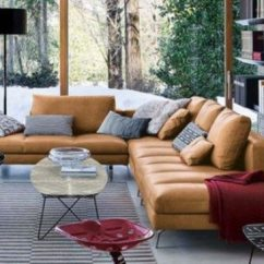 Sagging Sofa Broyhill Emily Cottage Queen Goodnight Sleeper Cognac Leather Sofas Are Now On Trend For 2018 Homes ...
