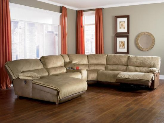 orange fabric sectional sofa kid friendly white sofas light colored leather - a bright vibe in 2018 trendy ...