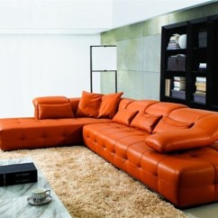 Cover For Dual Reclining Sofa Linen Covers Wash Orange Leather Sofas - Bright Look With Warm And ...