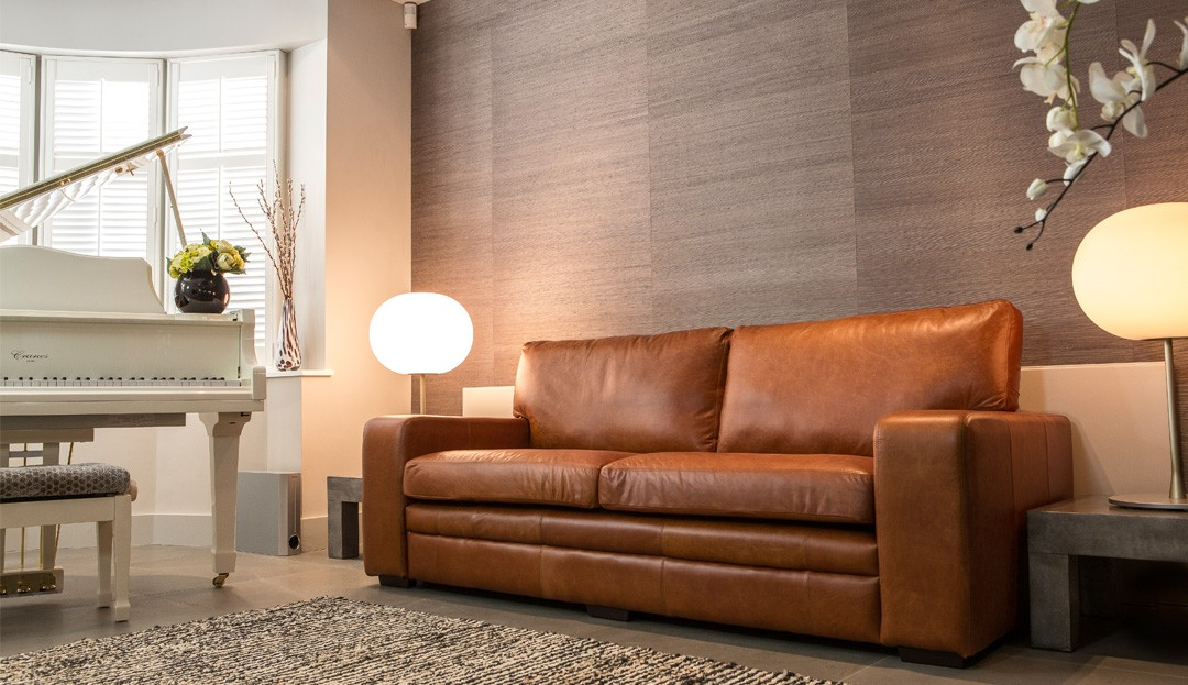 Tan Couch And Loveseat